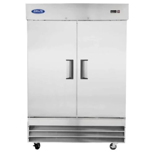 Two Solid Door Reach-In Freezer 48CF