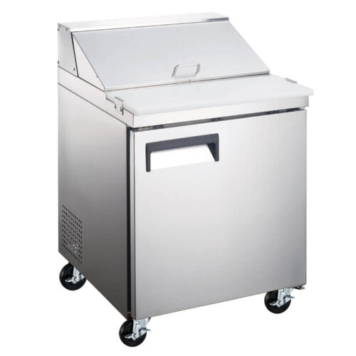 Refrigerated Salad Sandwich Prep Table 27 Inches One Door