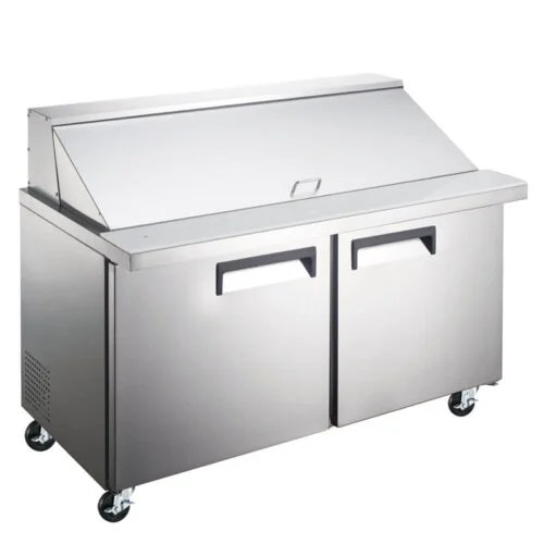 Refrigerated Salad Sandwich Prep Table Mega Top 47 Inches