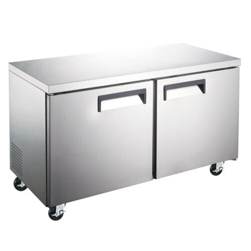 Two Door Undercounter Freezer 12CF 48 Inches KM Kitchen Monkey