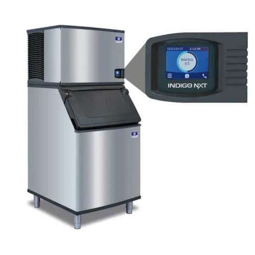 Manitowoc ice machine 30 inches 406 lbs water-cooled (3)
