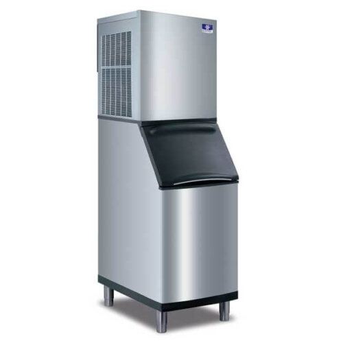 Manitowoc ice machine nugget ice water-cooled 508 lbs (2)