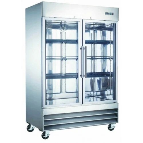 Commercial reach-in freezer 2 glass door 48 cbft U-Star