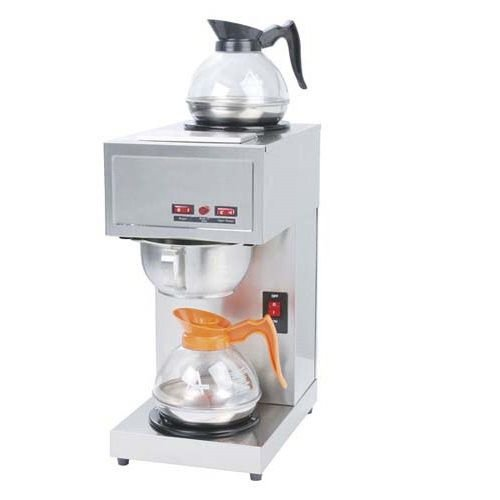 Stainless Steel Coffee Brewer 1650W KM Kitchen Monkey