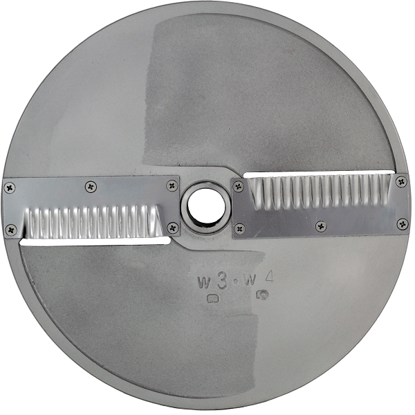 Scallop Cut Disc Plate 5/32 Inch For MASTER SKY Food Processor