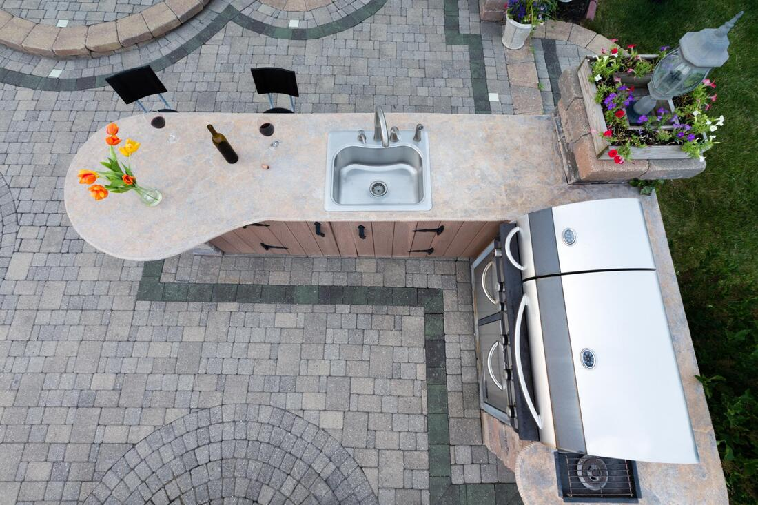 Outdoor Kitchen Renovation Contractors in Livingston, New ... on Backyard Renovation Companies id=61662