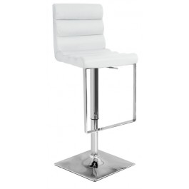 Benito Kitchen Stool - White