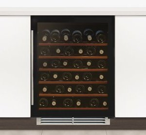 Undercounter Single Zone Wine Cabinet W 595mm