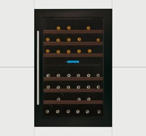 In-Column Double Zone Wine Cabinet H 886mm