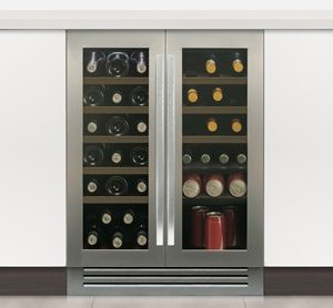 Undercounter Dual Zone Wine Cabinet W 595mm