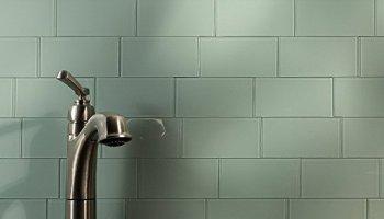 Aspect Peel And Stick Backsplash 3in X 6in Morning Dew Glass Backsplash Tile For Kitchen And