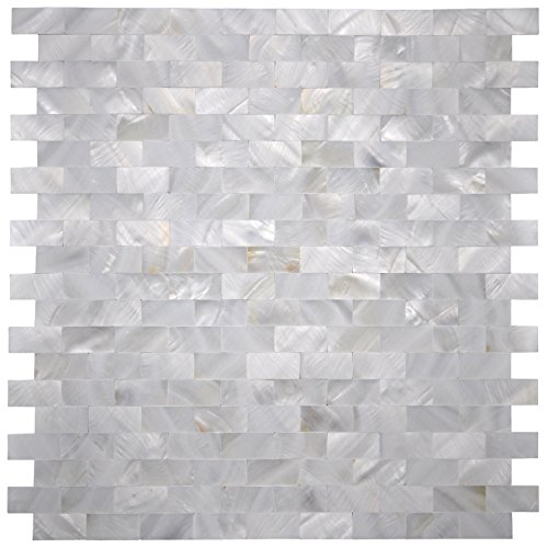 art3d mother of pearl shell mosaic tile for kitchen backsplash shower wall tile 12