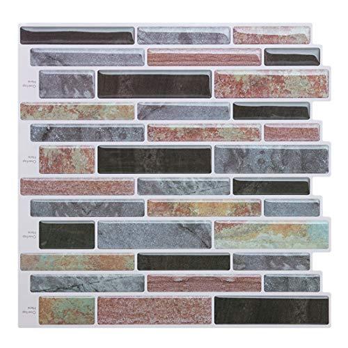Self Peel and Stick Tile Backsplash for Kitchen//Bath Stick on Tiles Splashback