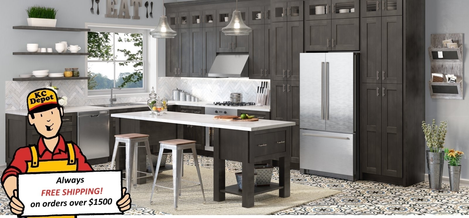 Learn about 10 uses for kitchen cabinets outside the kitchen. Rta Kitchen Cabinets Kitchen Cabinet Depot