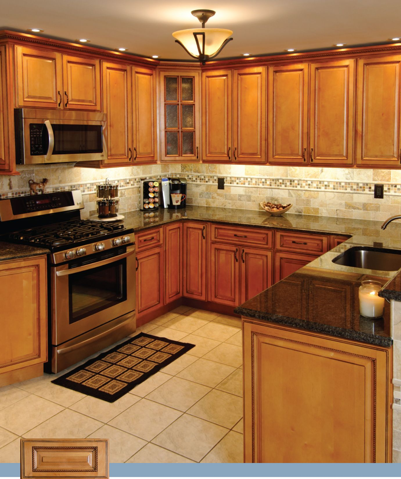 RTA Kitchen Cabinet Discounts MAPLE OAK BAMBOO BIRCH ... on Backsplash With Maple Cabinets  id=98104