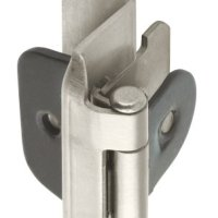 Amerock BP8704G10 Double Demountable Hinge with 1/2in(13mm) Overlay - Satin Nickel