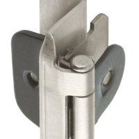 Amerock BP8704G10 Double Demountable Hinge with 1/2in(13mm) Overlay - Satin Nickel