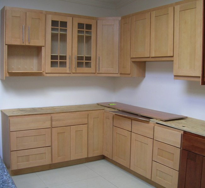 Contemporary Kitchen Cabinets   Wholesale Priced Kitchen Cabinets at     Natural Maple  Wholesale Kitchen Cabinets Maple Shaker