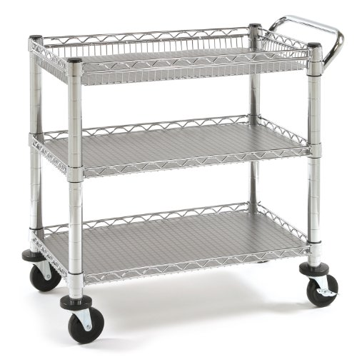 Seville Classics Heavy Duty Commercial Grade Utility Cart, NSF Listed