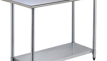 Stainless Steel Work Table Kitchen Carts - Food grade stainless steel table