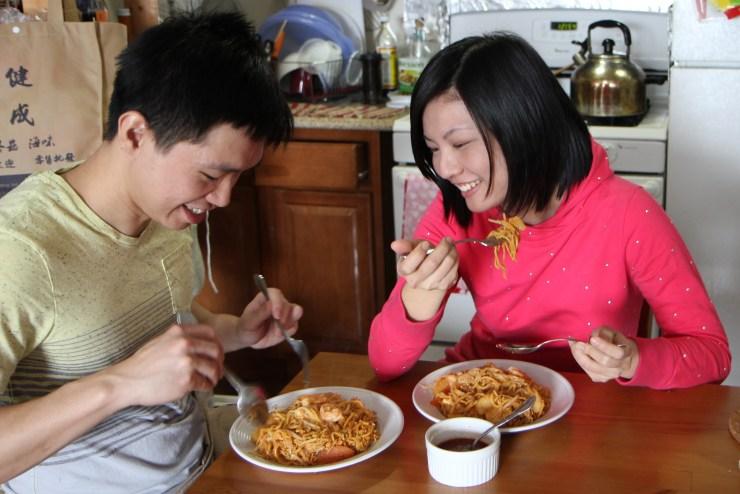 Mee goreng mamak Kuang Keng Kuek Ser and Li Li Liew