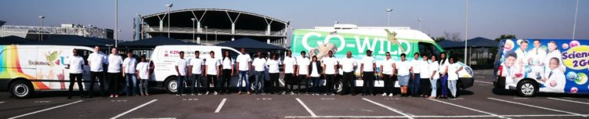 Umjikelezo We-Science 2017 team