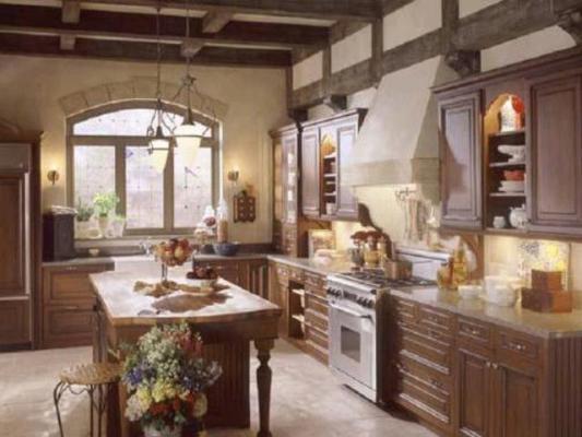 Kitchen Storage and Workspace