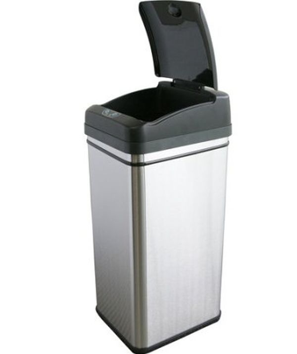 iTouchlessDeodorizer Touch-Free Trash Can