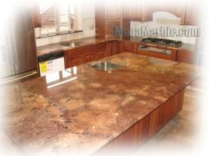 Granite kitchen countertop colors