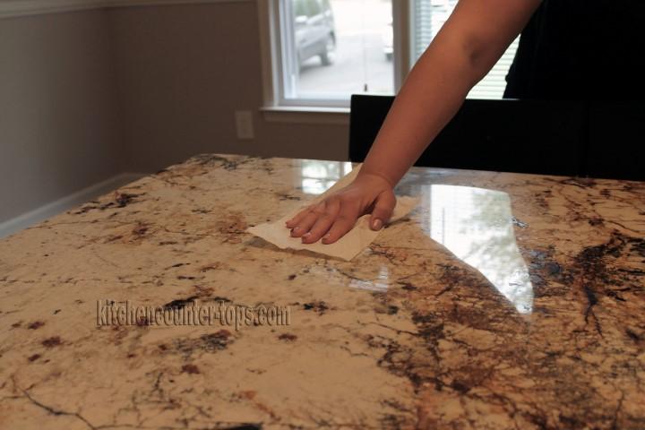 How to seal a granite countertop countertops for kitchen how to seal granite or marble countertops tyukafo