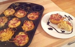 Carbonara-Muffins Fingerfood