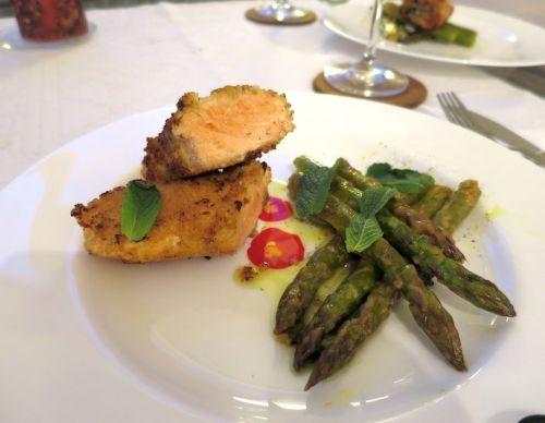 Die besten Spargelrezepte Couscous Lachs