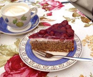 Kirsch-Mascarpone Torte ohne Mehl