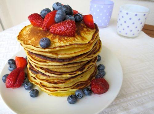 Buttermilch-Pancakes Brunch-Rezepte