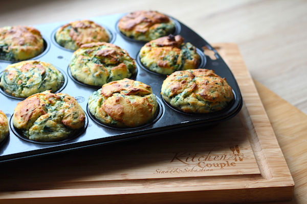 Ricotta-Spinat Muffins 4
