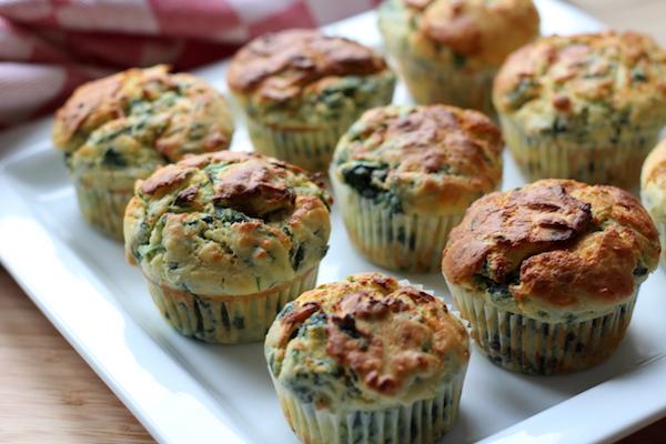 ricotta spinat muffins ein herzhaftes fingerfood rezept kitchencouple. Black Bedroom Furniture Sets. Home Design Ideas