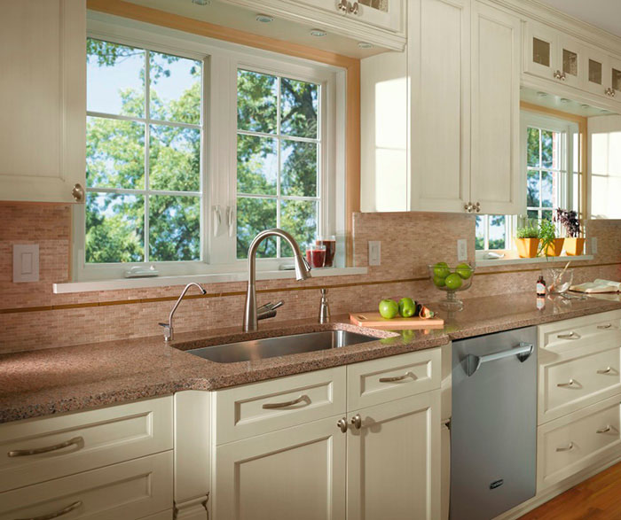 off white kitchen craft cabinetry