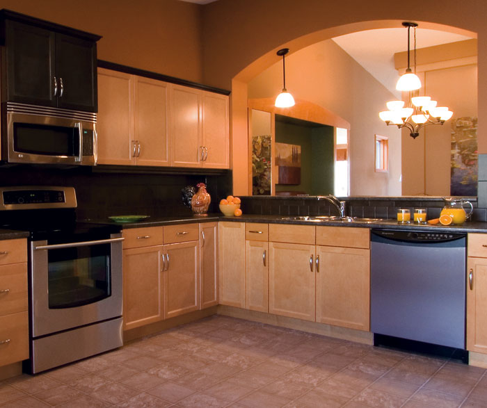 Light Maple Kitchen Cabinets By Kitchen Craft Cabinetry