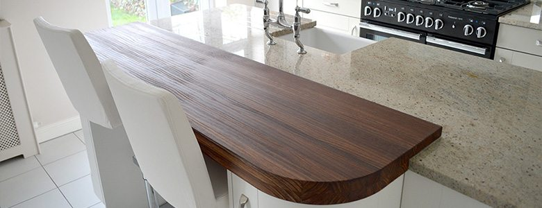 How can I feature wood in my kitchen