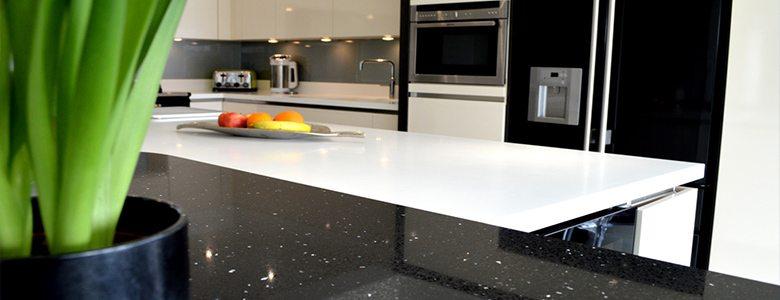 sleek and slimline kitchen