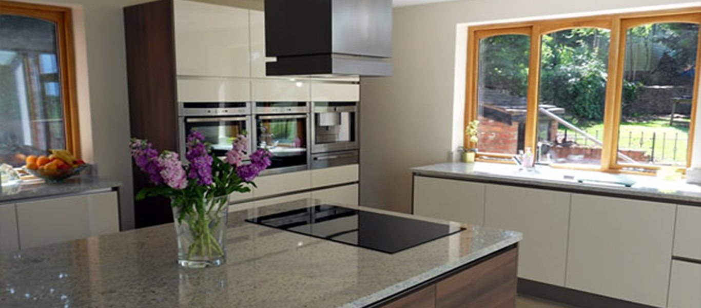 Family helps to design their own kitchen
