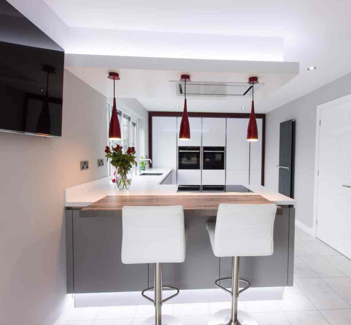 Ultra-modern designer kitchen with a truly individual style