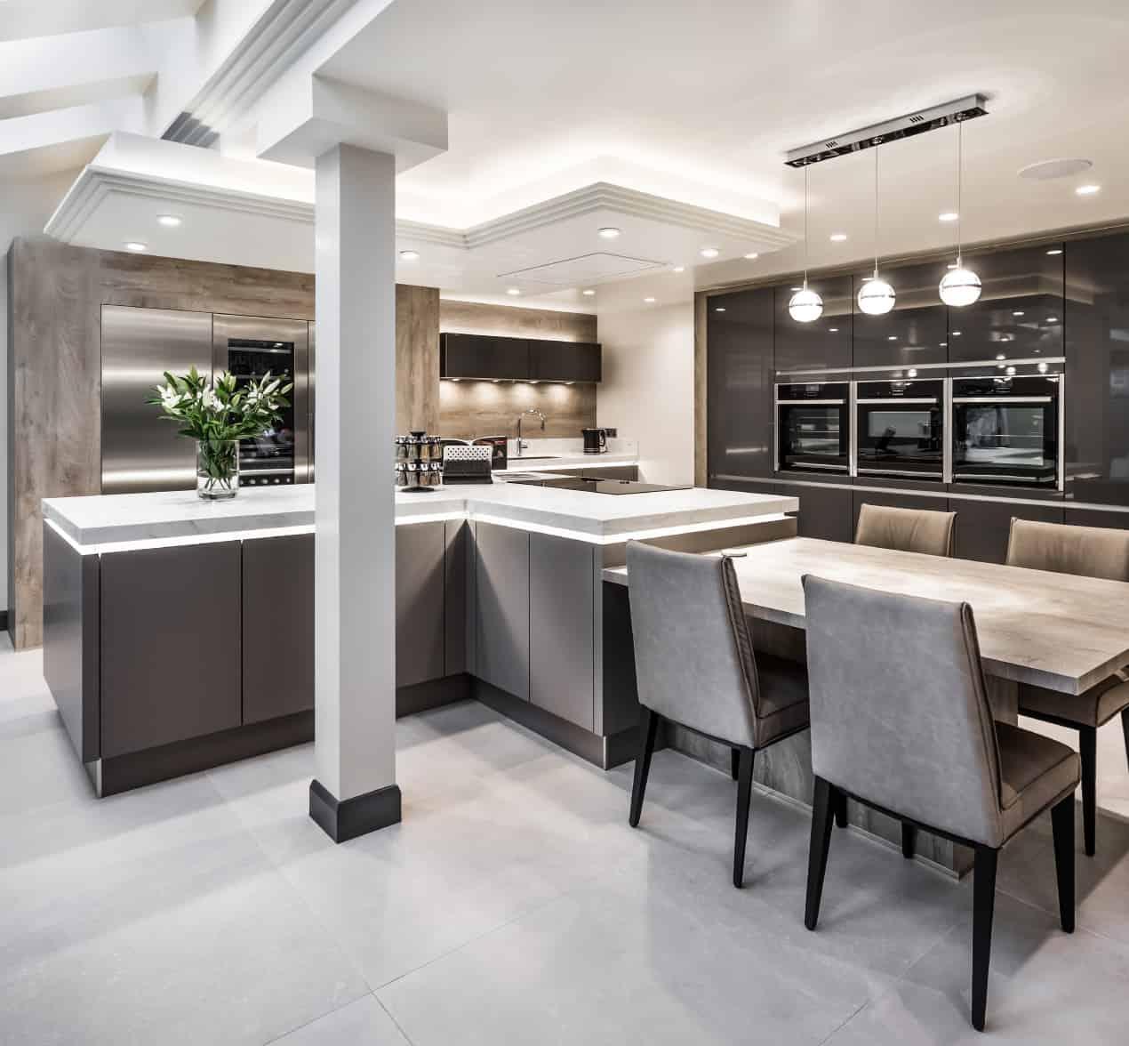Contemporary Kitchen Installation | Kitchen Design Centre