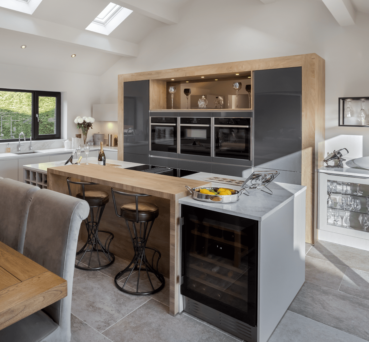 A Contemporary Kitchen with a Country feel