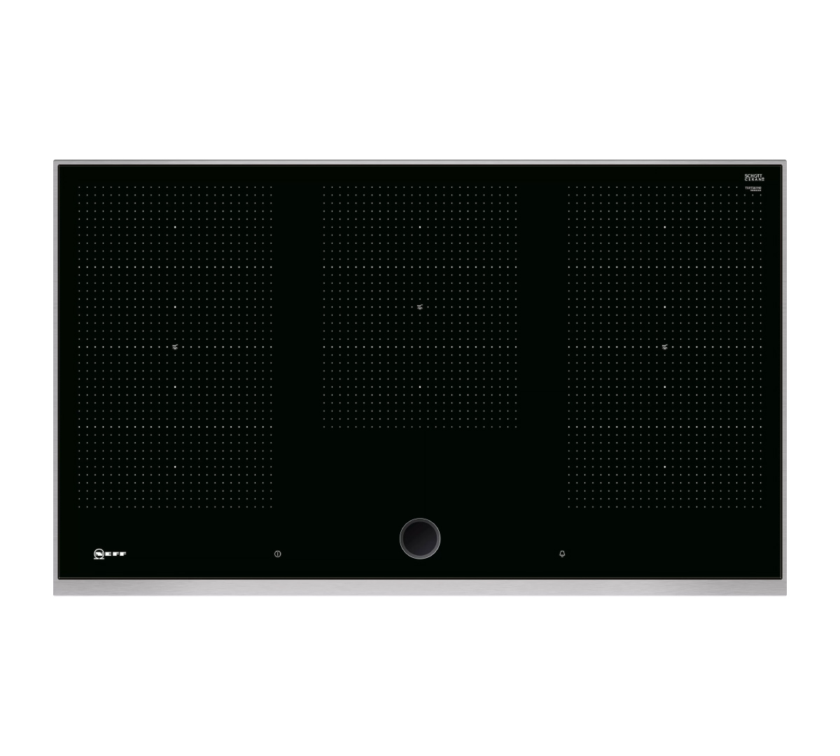 N90 90cm Flex Induction Hob 3 x Flex Zones