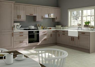 Washington Legno Stone Grey Kitchen Doors Made To