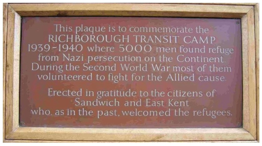 Kitchener plaque. Source: Stephen Nelken, 2017