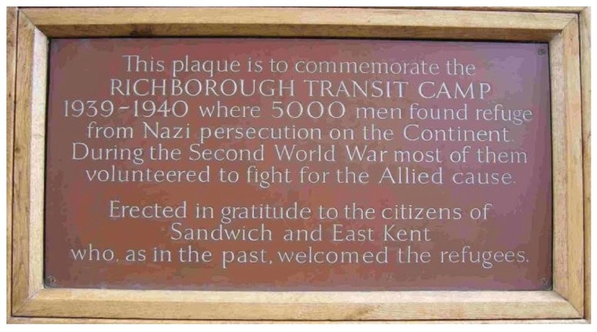 Kitchener plaque. Source: Stephen Nelken, 2017