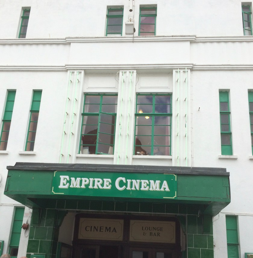 Kitchener camp, Empire cinema, Sandwich 2017