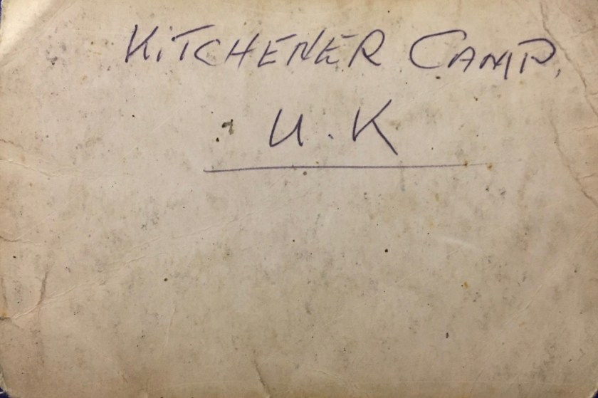 Kitchener camp, Hans Friedmann, 1939